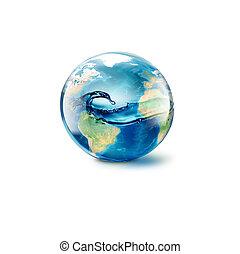 eau, intérieur, résumé, mondiale
