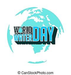 eau, jour, mondiale