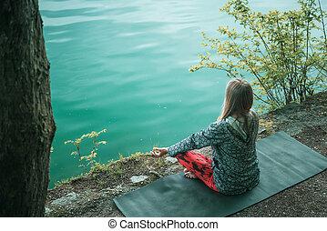eau, méditation