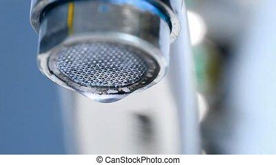 eau, macro, goutte