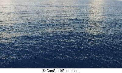 eau, ou, mer, océan