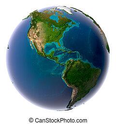 eau, planète, naturel, la terre, réaliste