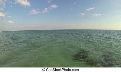 eau, plongée, s, appareil-photo., sous