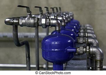 eau, préparation, refroidissement