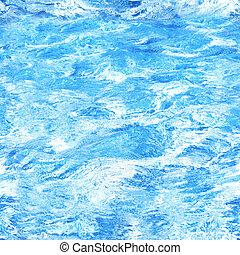 eau, seamless, texture
