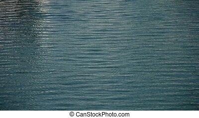 eau, surface.