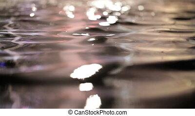 eau, surface., coloré
