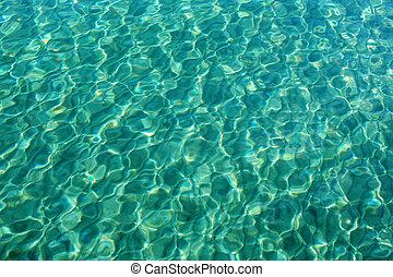 eau, texture