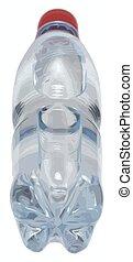 eau, vecteur, bouteille