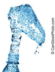 eau, verser