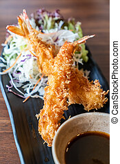 Ebi Fried shrimps - Ebi fried, deep fried shrimp, japanese ...
