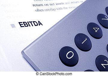 Ebitda Calculation - Ebitda still life