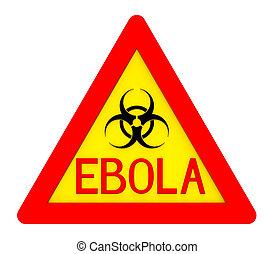 ebola, biohazard, znak