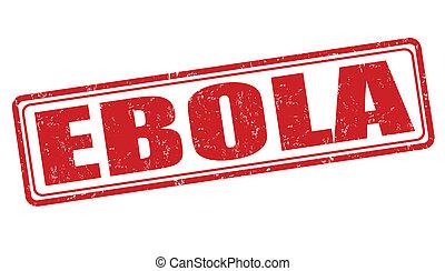 ebola, briefmarke