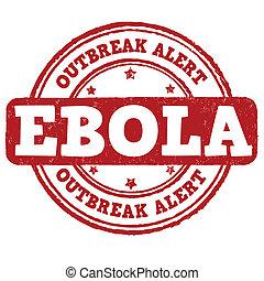 ebola, estampilla