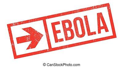 ebola, gumi bélyegző