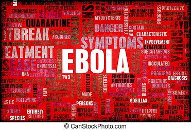 Ebola Virus Disease Outbreak and Crisis Art