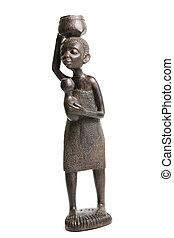 Ebony African Sculptures