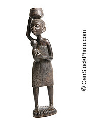 Ebony African Sculptures