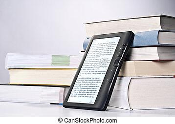 ebook, 本, 印刷される