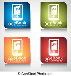 eBook Download Icon Button