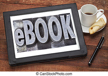 ebook, (electronic, book)
