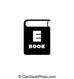 Ebook Flat Vector Icon