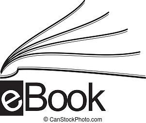 ebook, icône