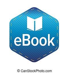 Ebook icon sign vector