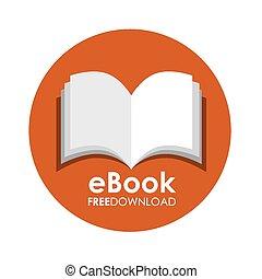 ebook, icono
