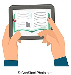 ebook or book download icon image