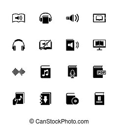 Ebooks - Flat Vector Icons