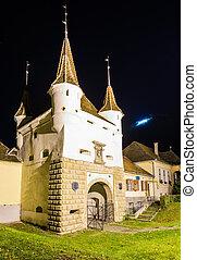 ecaterina gate in brasov, romania