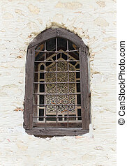 Ecclesiastical window - Old ecclesiastical window in ...