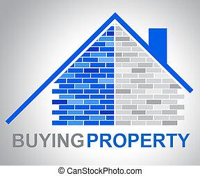 echte, aankopen, landgoed, middelen, eigendom, aankoop