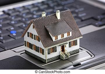echte, concept, landgoed, online