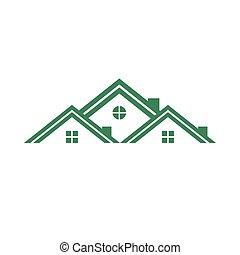 echte, huisvesting, groep, landgoed
