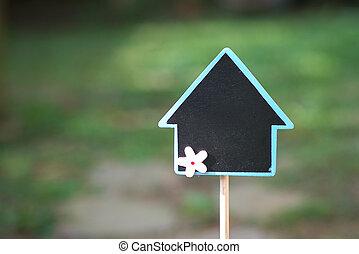 echte, kopen, landgoed, grondig, verkoop, het putten, eigendom, of, concept: