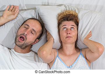 echtgenoot, snurken