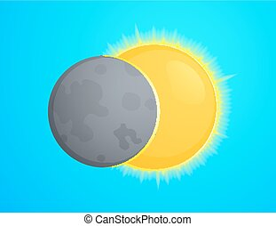 Eclipce vector illustration