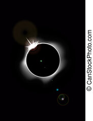 eclips, zonne