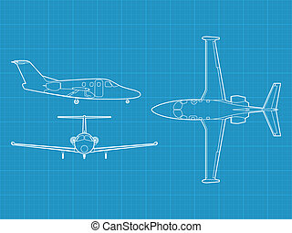 Eclipse 500 - high detailed vector illustration of small...