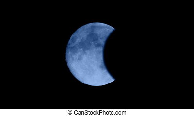 Eclipse Of The Moon - Total eclipse of the moon