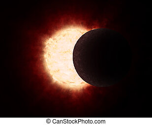 Eclipse of the sun