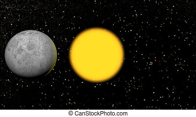 eclipse sun and moon