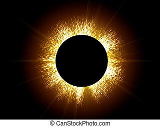 Eclipse the sun