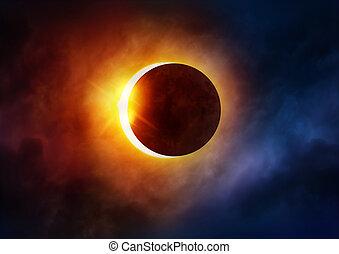 eclissi, solare