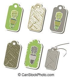 eco, állhatatos, zöld, barátságos, nappal