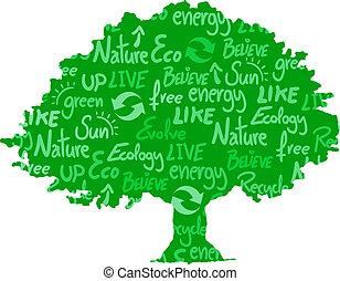 eco, árvore