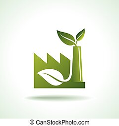 eco, énergie, icône